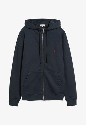 Zip-up sweatshirt - depth navy