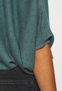 JDY - JDYNEW BEHAVE BATSLEEVE - Strickpullover - north atlantic melange - 5