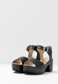 Koi Footwear - VEGAN - Sandales à plateforme - black - 4