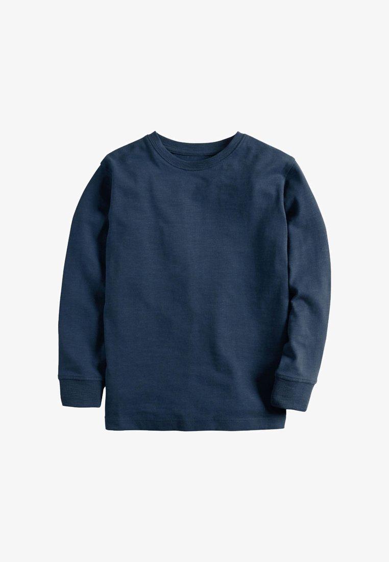 Next - Long sleeved top - mottled blue