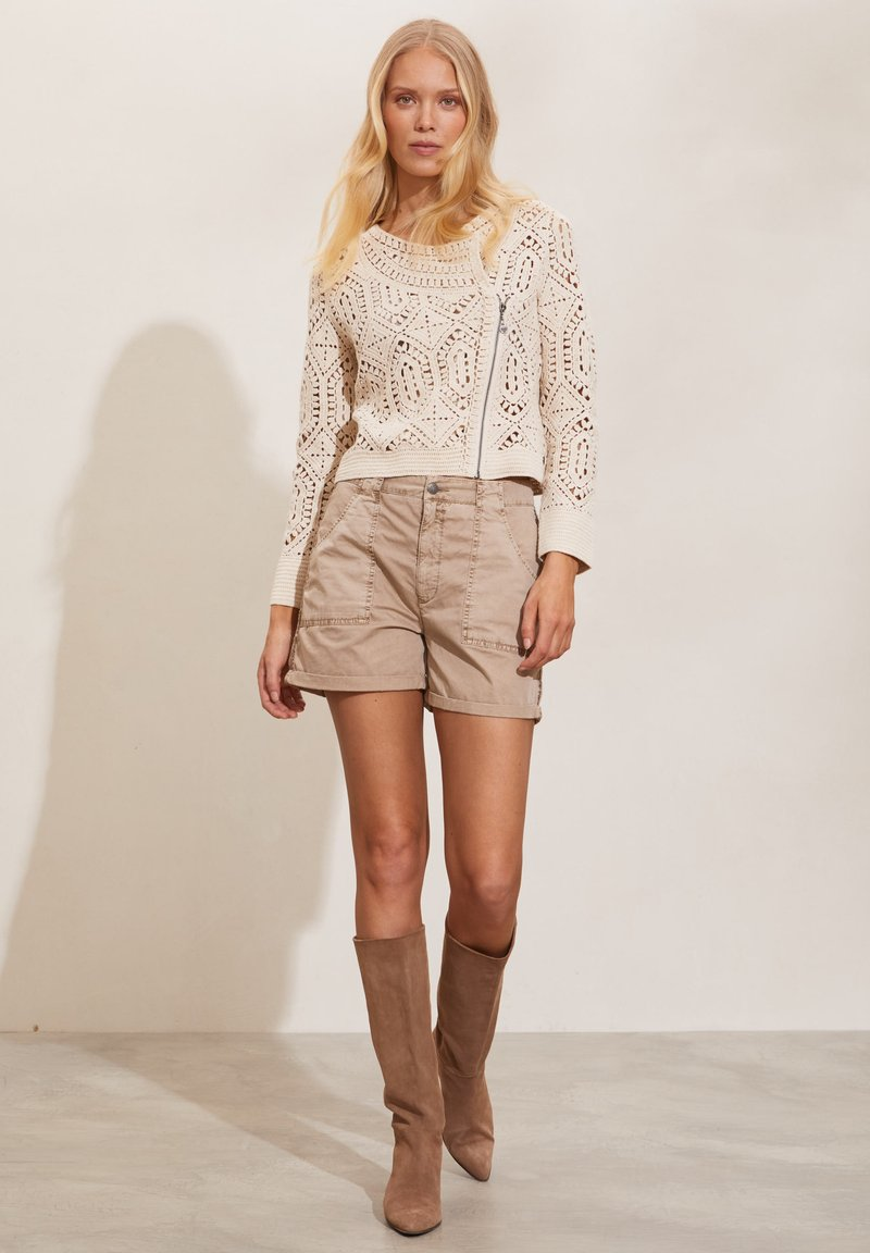 Odd Molly - HEATHER - Shorts - light taupe