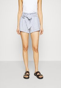 Abercrombie & Fitch - Shorts - blue/white - 0