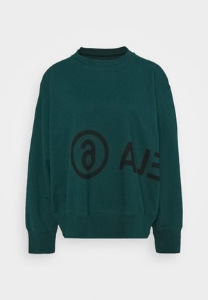 Sweatshirt - duck green