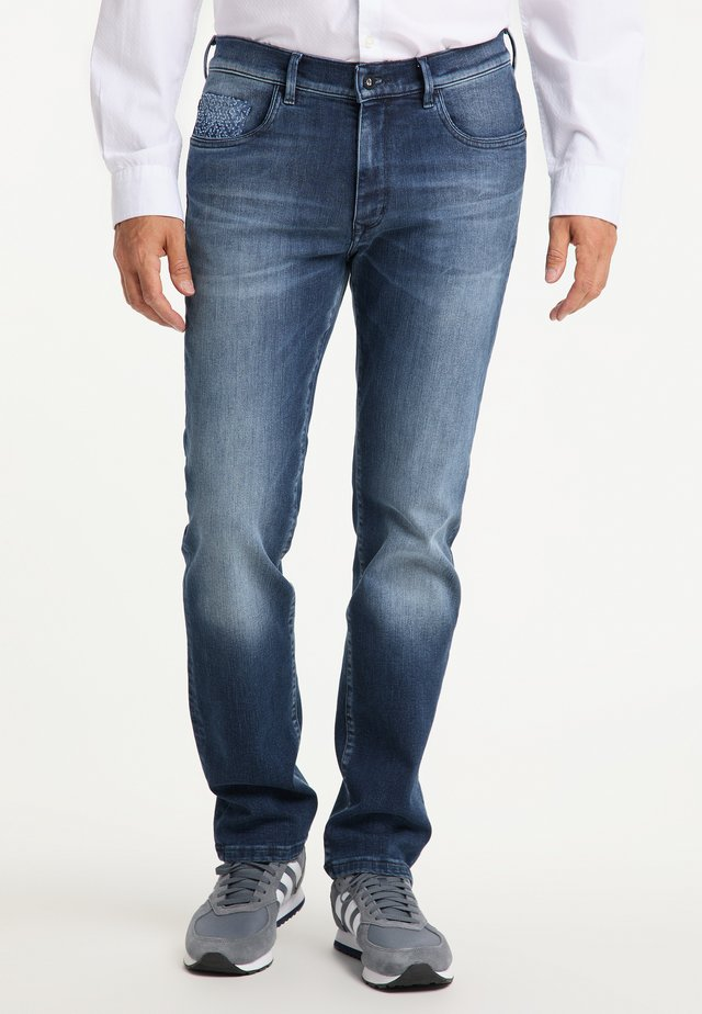 RANDO RED EDITION - Slim fit jeans - blau