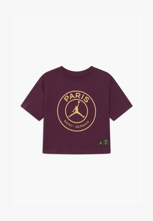 LOGO BOXY TEE - Article de supporter - bordeaux