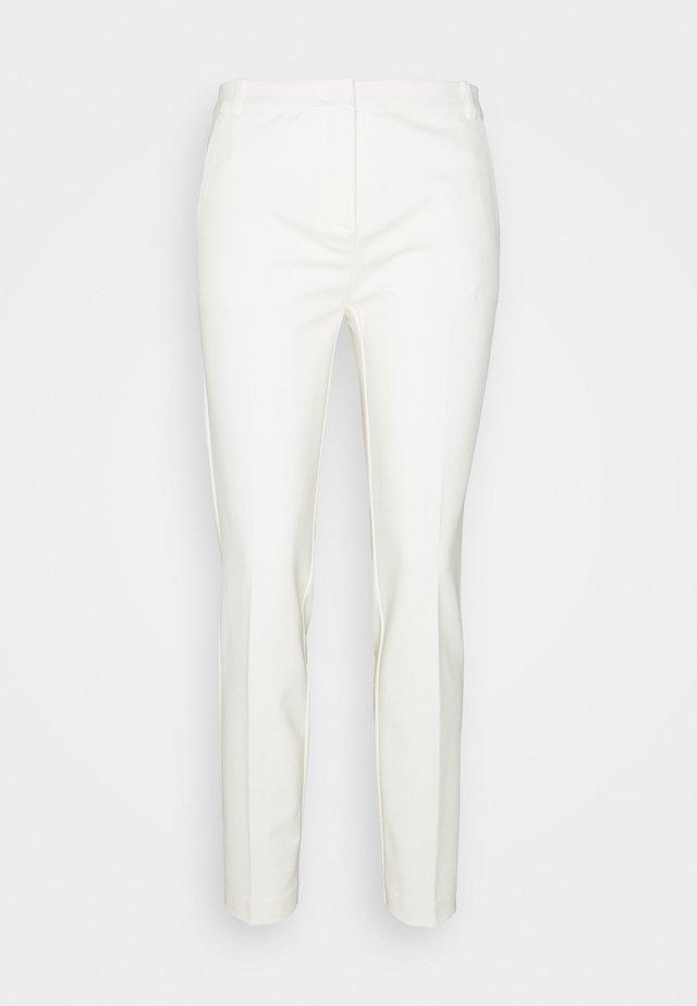 BELLO TROUSERS - Pantaloni - white