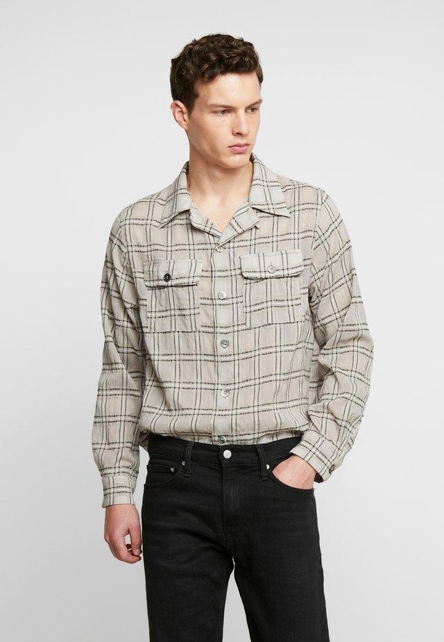 AMEL SHEER SHIRT - Shirt - beige