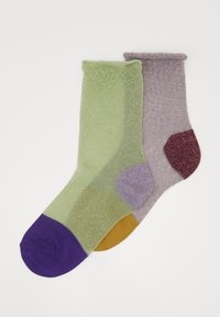 Hysteria by Happy Socks - FRANCA ANKLE SOCK 2 PACK - Calcetines - multi-coloured - 0
