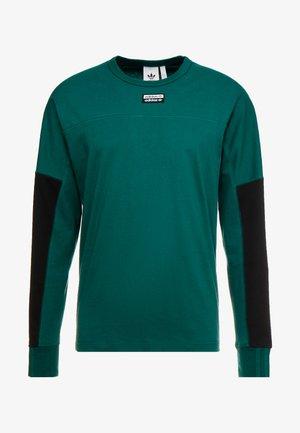 REVEAL YOUR VOICE LONGSLEEVE - Long sleeved top - collegiate green