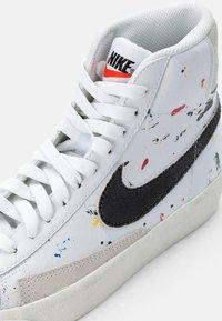 Nike Sportswear - BLAZER MID - High-top trainers - white/black-white-sail - 5