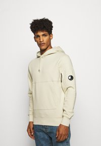 C.P. Company - HOODED - Sweat à capuche - oyster grey - 0