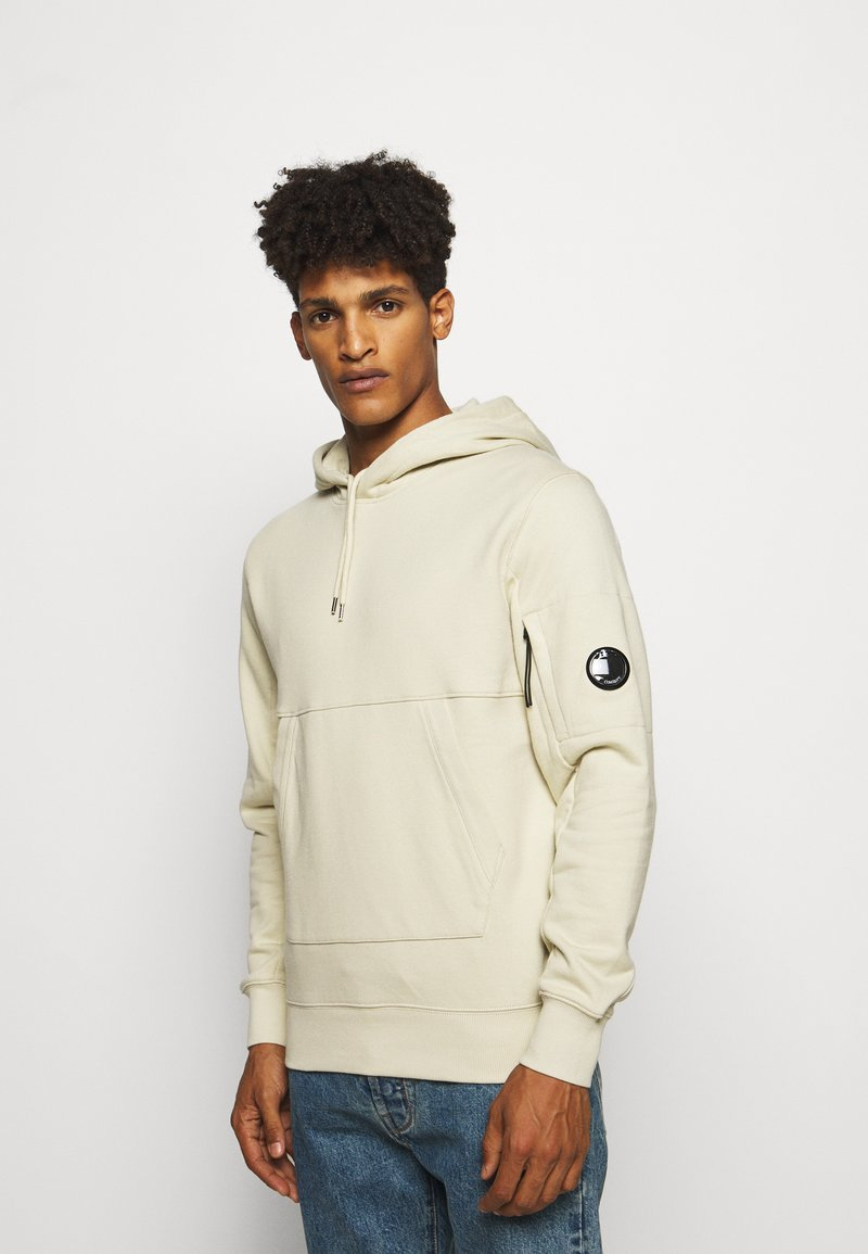 C.P. Company - HOODED - Sweat à capuche - oyster grey