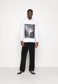 Denim Project - DOG HOODIE - Sweatshirt - white - 1