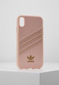 adidas Originals - MOULDED CASE SNAKE - Etui na telefon - pink - 0