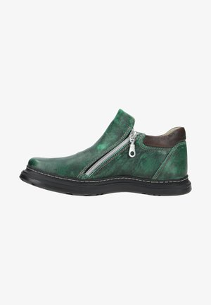 Slip-ons - dark green