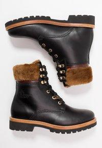 Panama Jack - PANAMA IGLOO BROOKLYN - Lace-up ankle boots - black - 3
