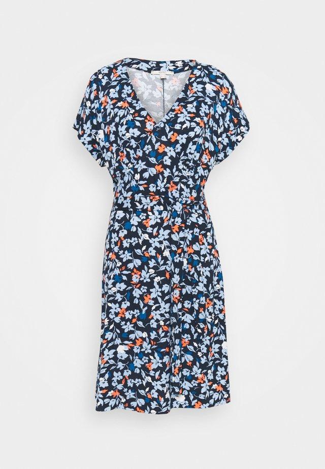 Jerseyklänning - dark blue