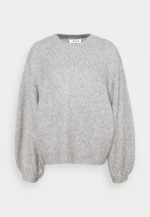 LUISA JUMPER - Pullover - grau