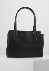 Guess - OPEN ROAD LUXURY SATCHEL - Handbag - black - 3
