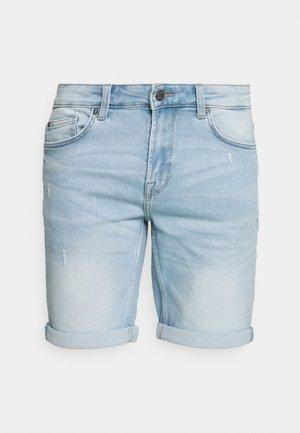 ONSPLY LIFE REG BLUE  - Denim shorts - blue
