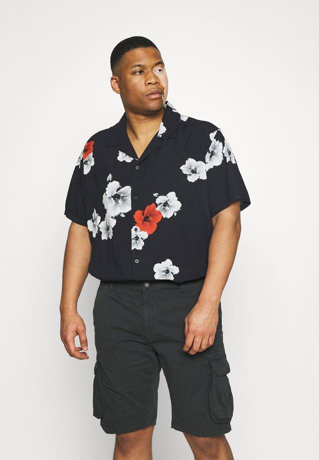 RESORT HAWAIIFLOWER - Overhemd - black