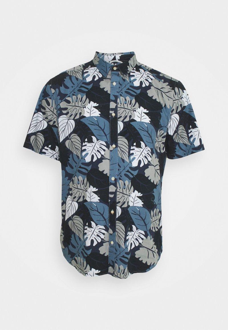 Only & Sons - ONSSTONE LIFE AOP POPLIN - Shirt - dress blues
