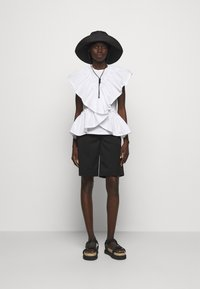 3.1 Phillip Lim - BUTTERFLY RUFFLE SLEEVE TANK - Print T-shirt - offwhite - 1