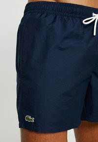 Lacoste - Swimming shorts - navy blue/creek - 3