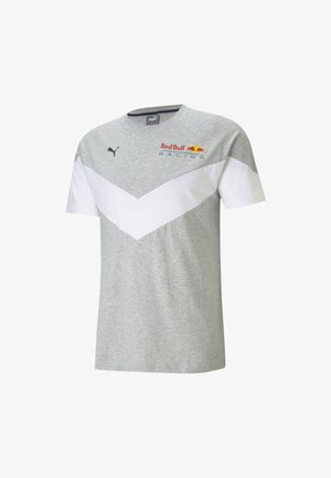 RED BULL RACING MCS - Print T-shirt - light gray heather