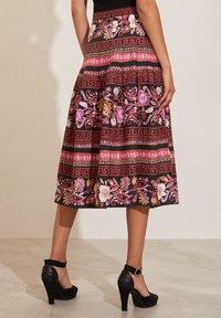Odd Molly - REBECCA - A-line skirt - almost black - 2