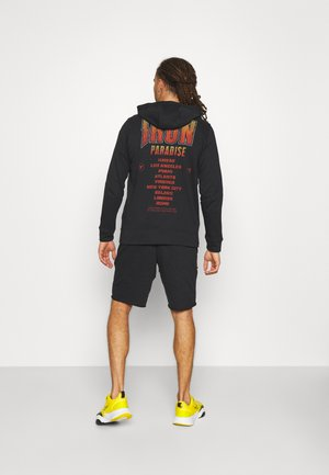 ROCK TERRY - Zip-up sweatshirt - black