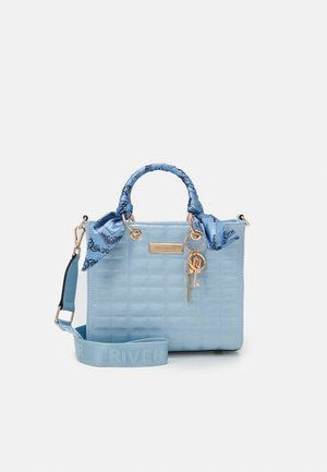 Handbag - blue light