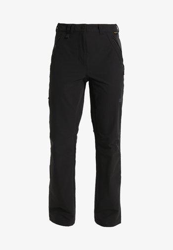 ACTIVATE WOMEN - Pantaloni outdoor - black
