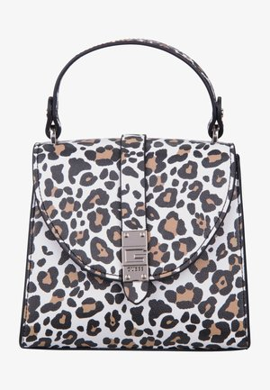 NEREA TOP HANDLE FLAP - Sac à main - leopard