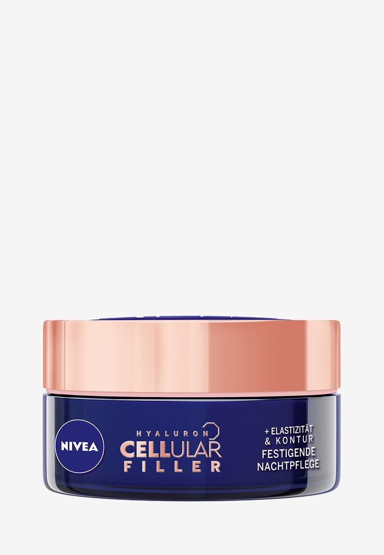 Nivea - HYALURON CELLULAR FILLER + ELASTICITY RESHAPE NIGHT CREAM - Trattamenti notte - -