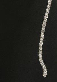 Missguided Tall - DIAMANTE TIE STRAP MIDAXI DRESS - Day dress - black - 2
