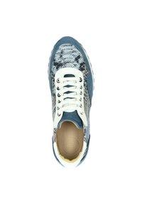 Lorenzi - Sneakers laag - blauw - 1