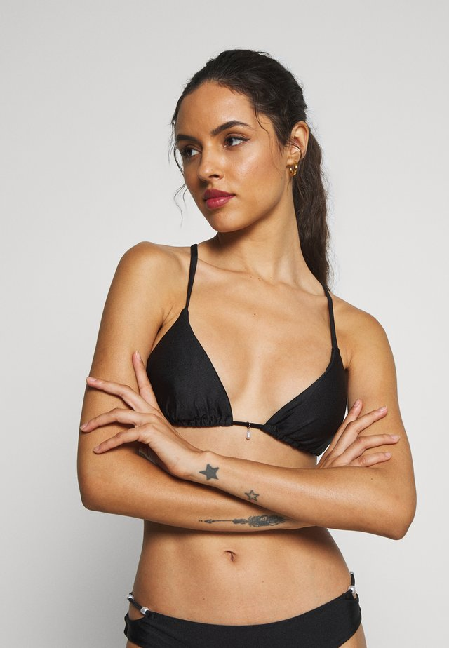 CANNES TRIANGLE - Bikini top - black