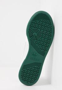 adidas Originals - CONTINENTAL 80 - Trainers - footwear white/grey one/collegiate green - 4