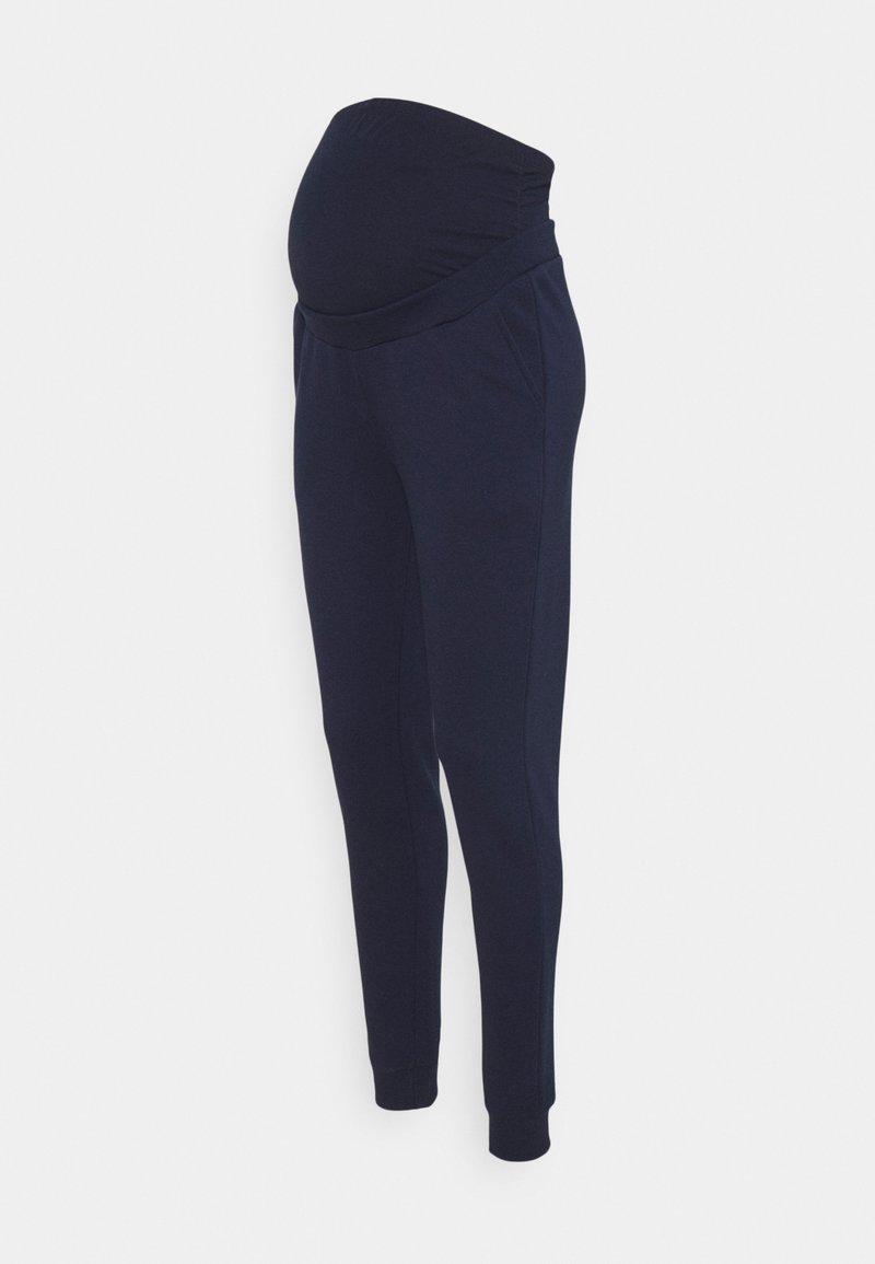 Anna Field MAMA - Tracksuit bottoms - dark blue