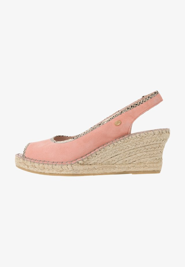 Espadrilles - soft rose