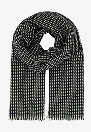 Scarf - schwarz/weiß