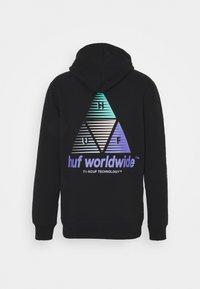 HUF - PRISM HOODIE - Sweatshirt - black - 1