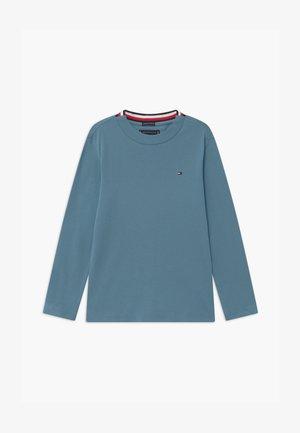 SOLID TEE - Pitkähihainen paita - blue