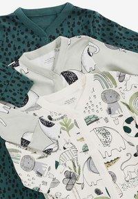 Next - 3 PIECE PACK ELEPHANT  - Sleep suit - green - 5