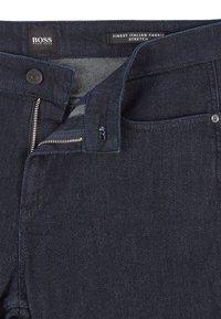BOSS - DELAWARE - Slim fit jeans - dark blue - 4