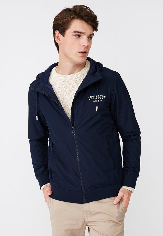 HARVEY - Outdoor jacket - dark blue