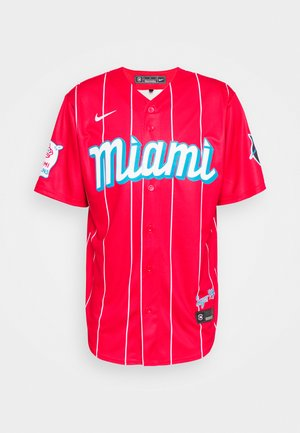 MLB CITY CONNECT MIAMI MARLINS OFFICIAL REPLICA - Artykuły klubowe - red
