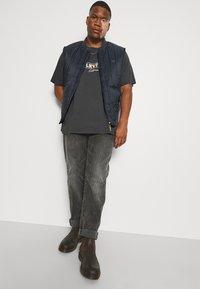 Levi's® Plus - BIG GRAPHIC TEE - T-shirt med print - dark shadow - 3