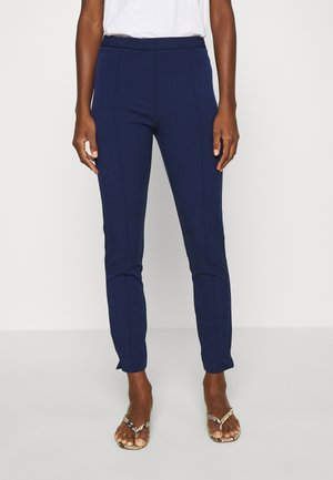 SLFILUE PINTUCK  - Trousers - maritime blue